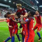 Англия вырвала победу у Словакии