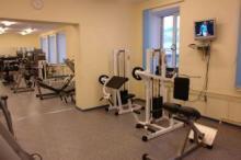 Тренажерный зал в спортивном комплексе «Ак Буре» (Ледовая арена)