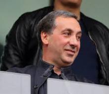 Гинер условно отстранен от участия в футбольной деятельности до конца сезона