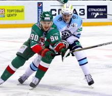 «Сибирь» сократила счет в серии с «Ак Барсом»