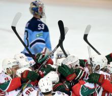 «Ак Барс» победил «Сибирь» и остался в шаге от финала Кубка Гагарина