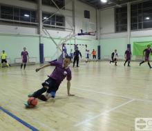 Завершился групповой этап мини-футбольного чемпионата ОЛЛФ