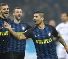 Дубль Икарди помог «Интеру» разгромить «Лацио»