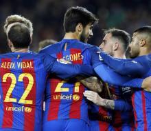 «Барселона» разгромила «Эркулес» в Кубке Испании