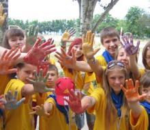 В Нижнекамске дети провели малую Олимпиаду