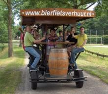 BeerBike: пивная бочка на колесах