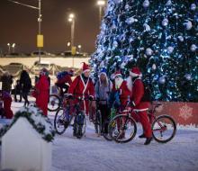 Велосипедисты Казани закрыли сезон 2016