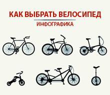 Как выбрать велосипед. Инфографика