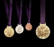 В золотых медалях Олимпиады-2012 золото составляет всего 1%